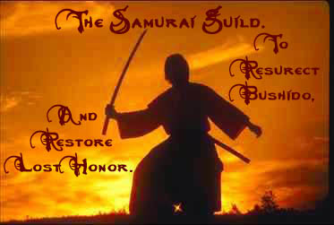 The Samurai Guild. This Guild Has Been Disbanded...